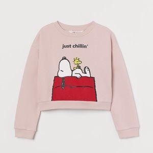 H&M Sweatshirt with Printed Design - Snoopy